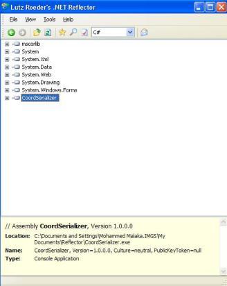 Retrieve C# code out of EXE Assembly | Mr Dublin Weblog